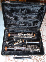 Normandy clarinet, wood, closed hole