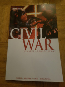 Civil War and Civil War Wolverine Marvel Softcover Trade