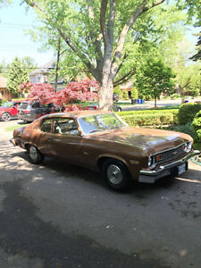 FOR SALE 1974 CHEVY NOVA