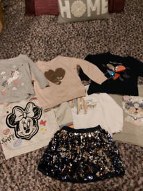 Girls clothing bundle age 4 and 4-5 inc. Jumpers