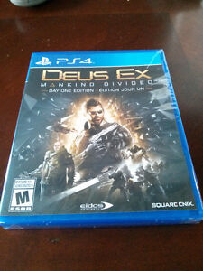 PS4 - Deus Ex: Mankind Divided (Day 1 edition)