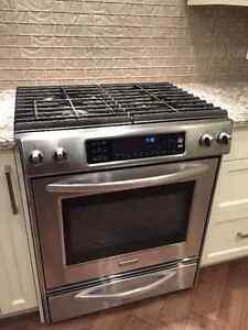 Kitchen Aid Dual Fuel Convection Range