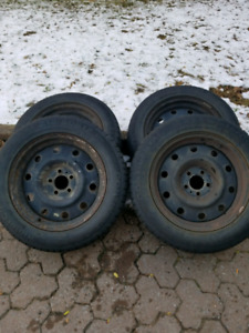 Winter tires and rims for sale!!