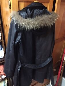 Danier leather parka