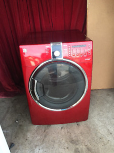 Kenmore Steam red front load dryer for sale
