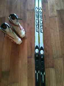 Fischer Classic 182cm Cross Country Skis