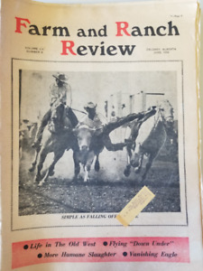 Farm and Ranch Review Calgary Alberta Paper