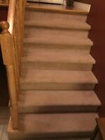 Looking for someone to install carpet on my stairs