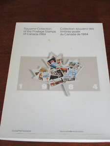 Souvenir Collection of Postage Stamps of Canada 1984