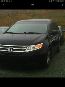 Willing to takeover Lease Honda Odyssey
