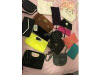 Bags, shoes, clothes, jewellery, eyelashes, hair accessories, belts,