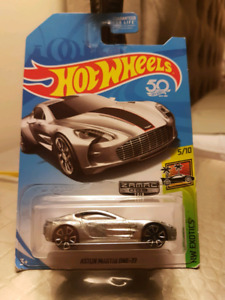 Hot wheels U.S Exclusive Zamac Aston Martin One-77