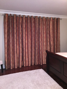 Custom drapery for sale - Excellent Condition - $200.00