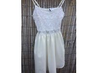 H&M lace detail dress size 8