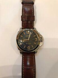 Men's Panerai Style Watch