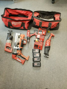 REDUCED!!! Older Milwaukee 18V Cordless Tools