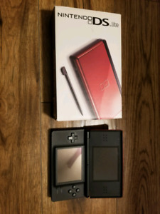 Mint condition red Nintendo DS lite