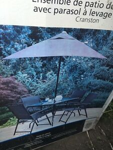 Brand new patio set