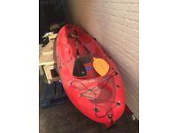 Two seater sit on kayak