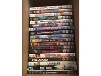 18 DVDs £5 if pick up today (mixed genre)