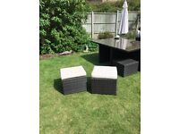 Rattan garden seats
