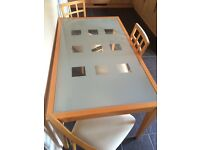 Dining table with 3 chairs. ***price reduced need gone asap***