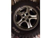 Alloy wheels 16 inch 4x4