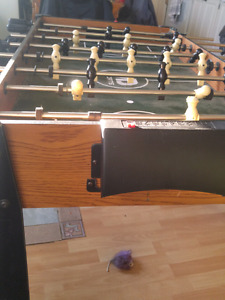 Foozball table large best offer or trade