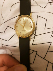 Omega Seamaster Deville 14k and SS RARE