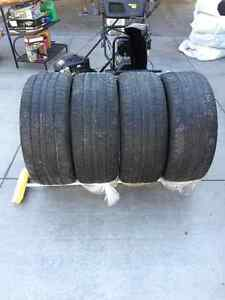 275/55R19 - 4 all season continental tires Kitchener / Waterloo Kitchener Area image 1