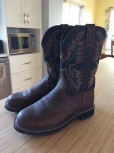 Justin cowboy boots 8.5 EE fit 10