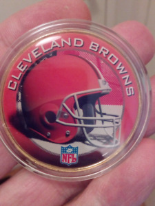 NFL CLEVELAND BROWNS NATIONAL FOOTBALL LEAGUE COIN.