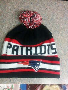NEW ENGLAND PATRIOTS WINTER HAT  (BRAND NEW)