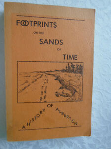 FOOTPRINTS ON THE SAND OF TIME,HISTORY OF ALBERTON