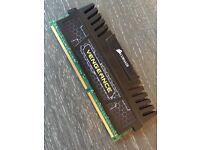 1 x 8GB DDR3 1600 RAM Corsair Vengeance