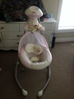 Fisher price 2in1 cradle & swing