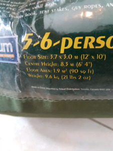 Tent, 5-6 person hex dome tent