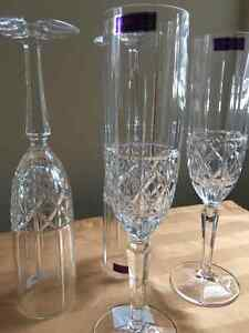 Marquis by Waterford  Brady Flute set of 4 Kitchener / Waterloo Kitchener Area image 4