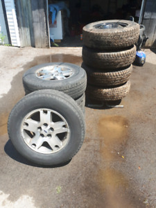 P235/70 R16 summer and winter tires
