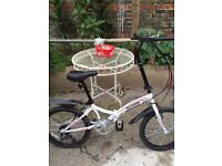New condition Intergra Safari folding bike with users manual and its 2 tools.
