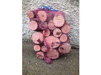 Hardwood log nets £3