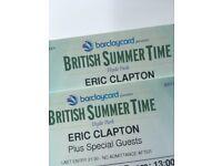 Eric Clapton Tickets Hyde Park Santana Steve Winwood special guests!