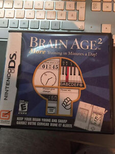 Nintendo DS Games - Cats, Horses, Brain Age 1 and 2 West Island Greater Montréal image 2