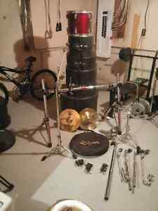 5 PC Tama Swingstar drums rack system and road cases London Ontario image 3