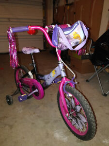 Girls 18 inch Disney Fairies Tink Bike with Head,leg arm pr,$75