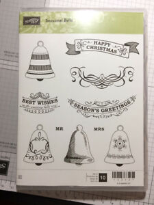 Stampin Up Seasonal bells