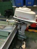 1959 Johnson 18 HP Outboard Motor