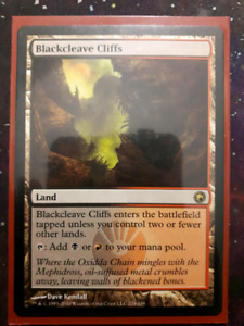 MTG Magic The Gathering Blackcleave Cliffs