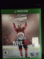 NHL 16  Xbox One (Will trade for FIFA 16)