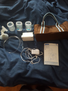 PRICE FIRM: First Years miPump with Carrying Case Extra Bottles
